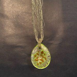 NWT Venetiaurum Murano Glass Necklace